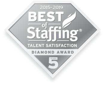 Best of Staffing Diamond Award - Talent